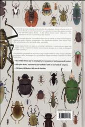 Coléoptères du monde ; une encyclopédie - 4ème de couverture - Format classique