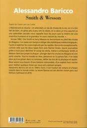 Smith & Wesson - 4ème de couverture - Format classique