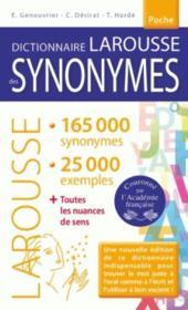 Dictionnaire des synonymes poche - Couverture - Format classique