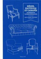 Sieges, fauteuils et canapés - Couverture - Format classique