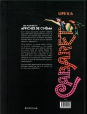 Les plus belles affiches de cinéma ; une autre histoire du 7e art - 4ème de couverture - Format classique