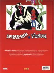 Spider-Man/Venom ; double peine - 4ème de couverture - Format classique