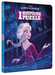 La Reine des Neiges 2 ; une histoire, un puzzle - Couverture - Format classique