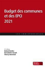 Budget des communes et des EPCI (édition 2021) - Couverture - Format classique