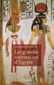 Les grandes souveraines d'Egypte - Couverture - Format classique