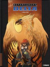 Département Delta t.1 ; prologue - Intérieur - Format classique