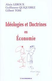Idéologies et doctrines en économie - Intérieur - Format classique
