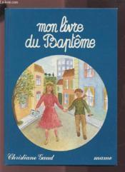 Mon Livre Du Bapteme - Couverture - Format classique