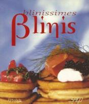 Blinissimes blinis - Couverture - Format classique