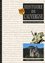 Histoire de l'auvergne - Couverture - Format classique