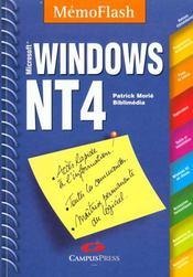 Memo Flash Windows Nt4 - Intérieur - Format classique