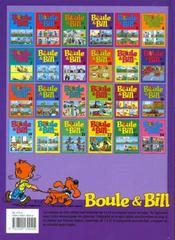 Boule & Bill T.4 - 4ème de couverture - Format classique