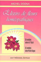 Elixirs De Fleurs Homoepathiques - Intérieur - Format classique