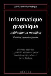 Informatique Graphique - Couverture - Format classique