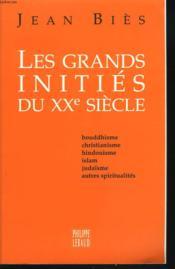Les Grands Inities Du Xxeme Siecle - Couverture - Format classique