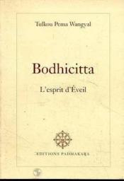 Bodhicitta l'esprit d'eveil - Couverture - Format classique