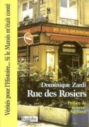 Rue des rosiers - Couverture - Format classique