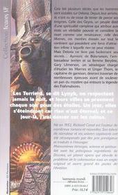 Deloria - La Legende Des Frahmabores - 4ème de couverture - Format classique