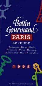 Le Petit Bottin Gourmand De Paris - Couverture - Format classique