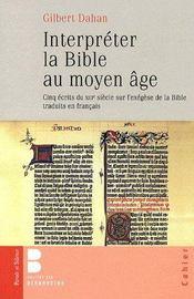 Interpréter la bible - Couverture - Format classique