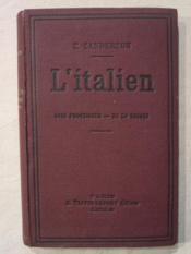 L'italien, sans professeur en 50 leçons - Couverture - Format classique