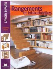 Rangements et bibliothèques - Couverture - Format classique