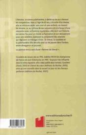 Palefrenière - 4ème de couverture - Format classique