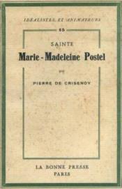 Sainte Madeleine Postel - Couverture - Format classique