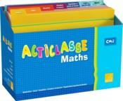 Acticlasse ; Maths ; Cycle 3/Niveau 3 ; Matériel 4 Elèves - Couverture - Format classique