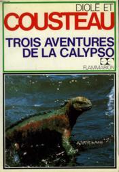 Trois Aventures De La Calypso. - Couverture - Format classique