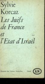 Les Juifs De France Et L'Etat D'Israel. - Couverture - Format classique