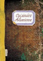 Cuisinière alsacienne - Couverture - Format classique