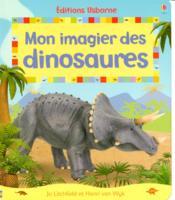 Mon imagier des dinosaures - Couverture - Format classique