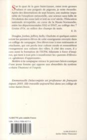 Molière à la campagne - 4ème de couverture - Format classique
