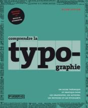 Comprendre la typographie - Couverture - Format classique
