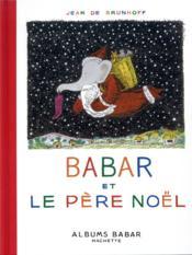 Babar et le Père Noël - Couverture - Format classique