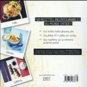 100 % cuisine du monde - 4ème de couverture - Format classique