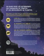 Guide du chasseur d'étoiles ; découvrir les planètes, les étoiles et l'univers en 275 leçons - 4ème de couverture - Format classique