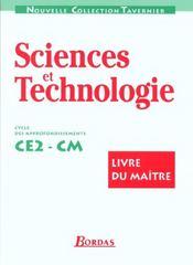 Découverte des sciences ; cycle 3 ; livre du maître - Intérieur - Format classique