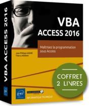 VBA Access 2016 ; coffret de 2 livres : maîtrisez la programmation sous Access - Couverture - Format classique