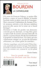 La camarguaise - 4ème de couverture - Format classique