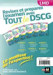 Tout le DSCG 1 - gestion juridique fiscale et sociale - entraînement et révision (édition 2018/2019) - 4ème de couverture - Format classique