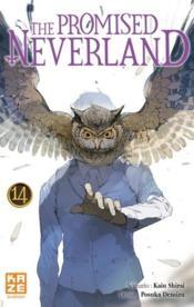 The promised Neverland T.14 - Couverture - Format classique