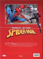 Marvel action - Spider-Man ; malchance - 4ème de couverture - Format classique
