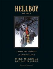 Hellboy deluxe T.5 - Couverture - Format classique