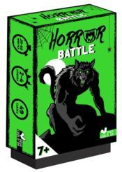 Horror battle ; jeu de cartes - Couverture - Format classique