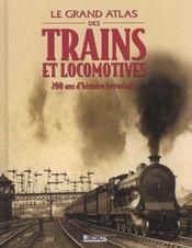 Le Grand Atlas Des Trains Et Locomotives - Intérieur - Format classique