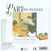 Art En Puzzle Japon - 4ème de couverture - Format classique