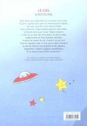 Le ciel a petits pas (nouvelle edition) - 4ème de couverture - Format classique