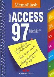 Access 97 -Mémento, Microsoft - Intérieur - Format classique